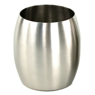 Round Stainless Steel Toothbrush Holder Gedy NI98